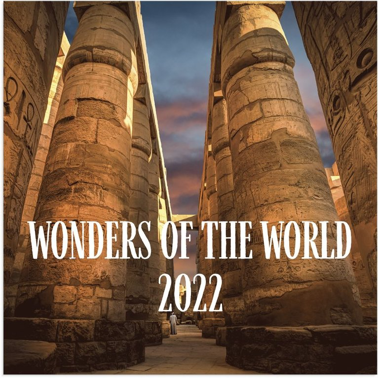 Väggkalender 2022 Wonders of the world 1