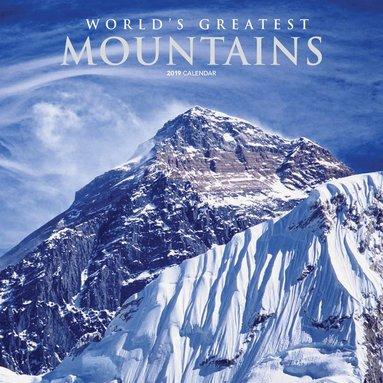 Väggkalender 2019 Mountains 1