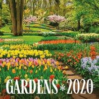 Väggkalender 2020 30x30cm Gardens
