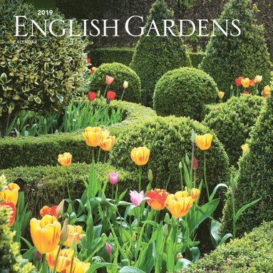 Väggkalender 2019 English Gardens 1