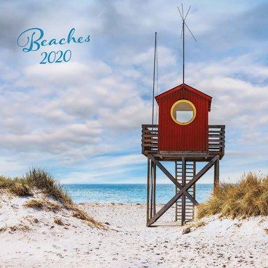 Väggkalender 2020 30x30cm Beaches 1