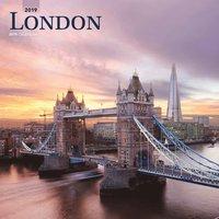 Väggkalender 2019 London