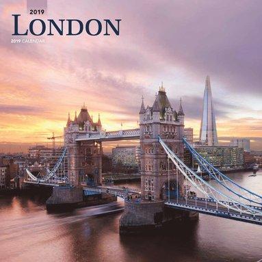 Väggkalender 2019 London 1