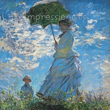 Väggkalender 2020 30x30cm Impressionists 1