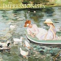 Väggkalender 2019 Impressionists