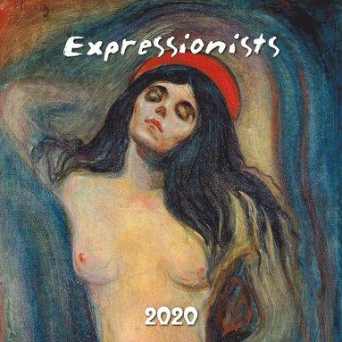 Väggkalender 2020 30x30cm Expressionists 1