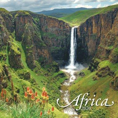 Väggkalender 2020 30x30cm Africa 1