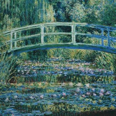 Väggkalender 2020 30x30cm Claude Monet 1