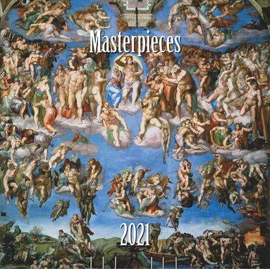 Väggkalender 2021 Masterpieces 1