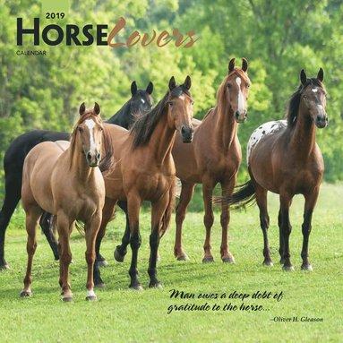 Väggkalender 2019 Horse Lovers 1