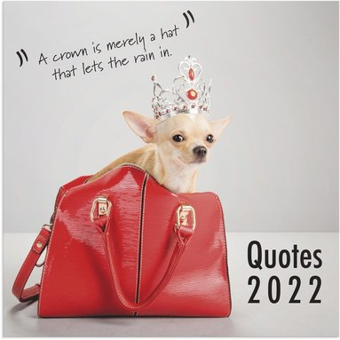 Väggkalender 2022 Quotes 1