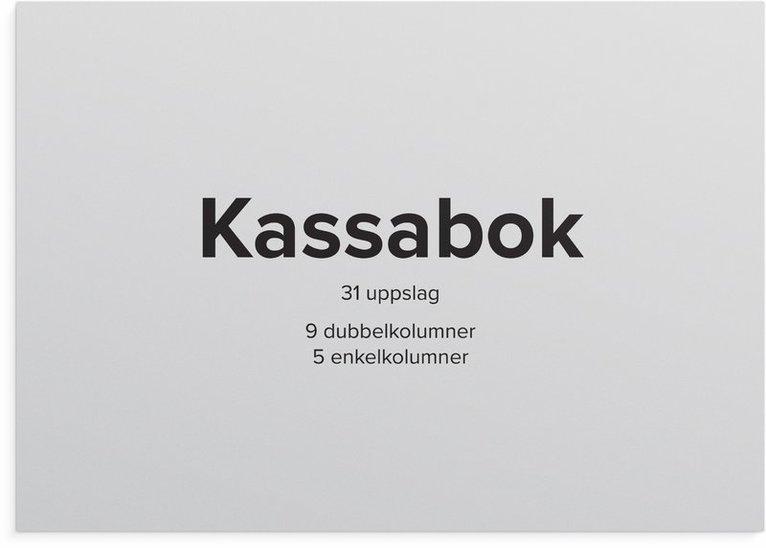 Kassabok A4L 1