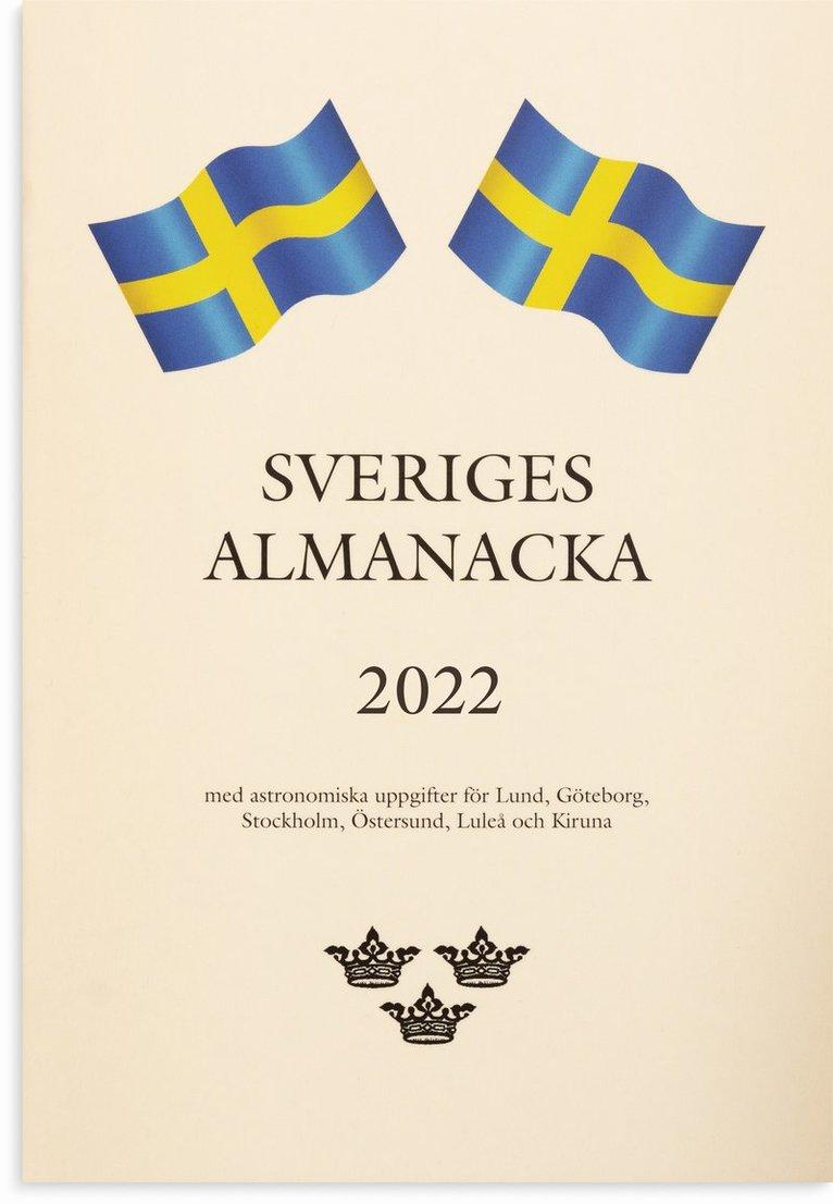 Kalender 2022 Sveriges Almanacka 1