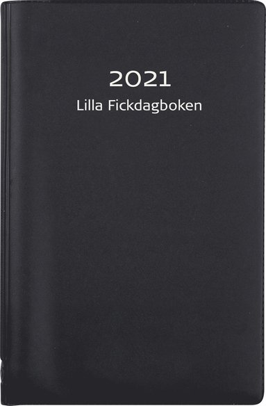 Kalender 2021 Lilla Fickdagboken plast svart 1