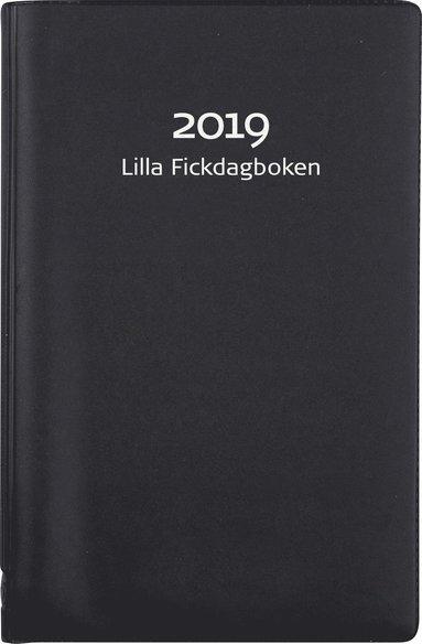 Kalender 2019 Lilla Fickdagboken plast svart 1