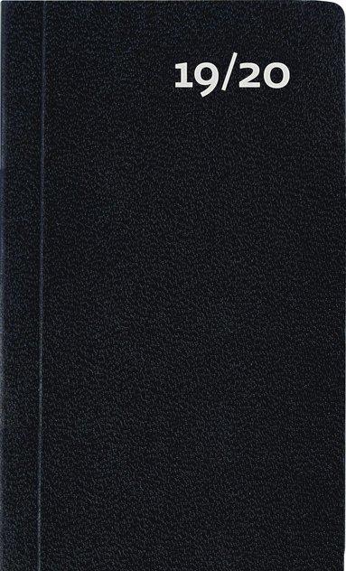 Kalender 2019-2020 Mini Basic svart 1