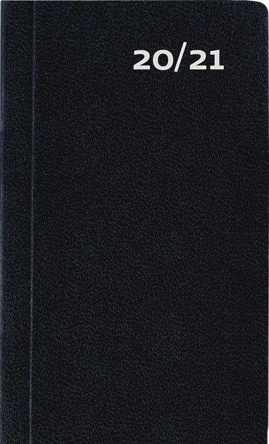 Kalender 2020-2021 Mini Basic svart 1