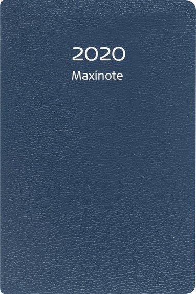 Kalender 2020 Maxinote kartong blå 1