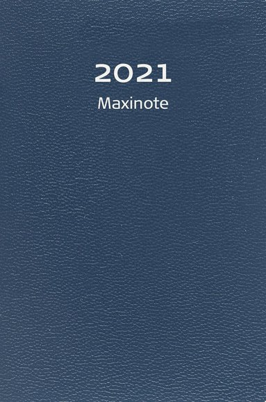 Kalender 2021 Maxinote kartong blå 1