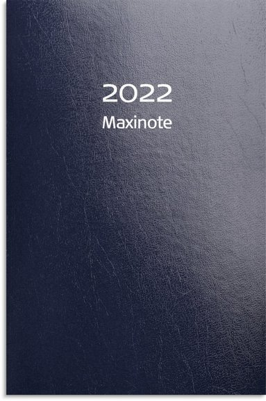 Kalender 2022 Maxinote kartong blå
