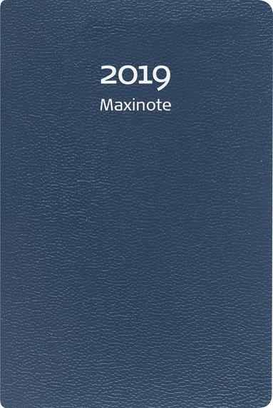 Kalender 2019 Maxinote kartong blå 1