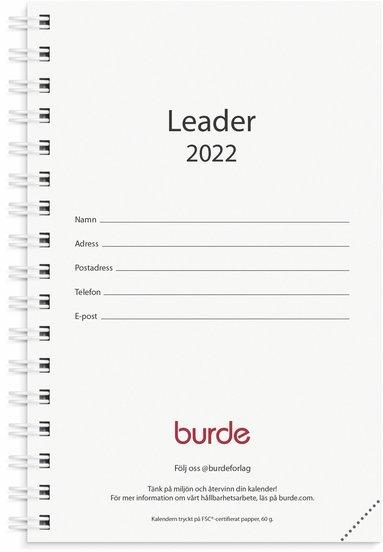Kalender 2022 Leader refill svart