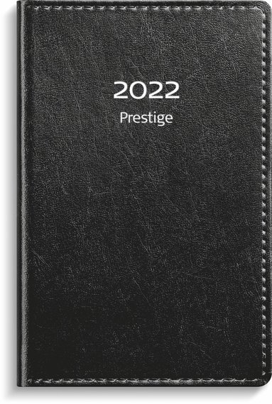 Kalender 2022 Prestige konstläder svart