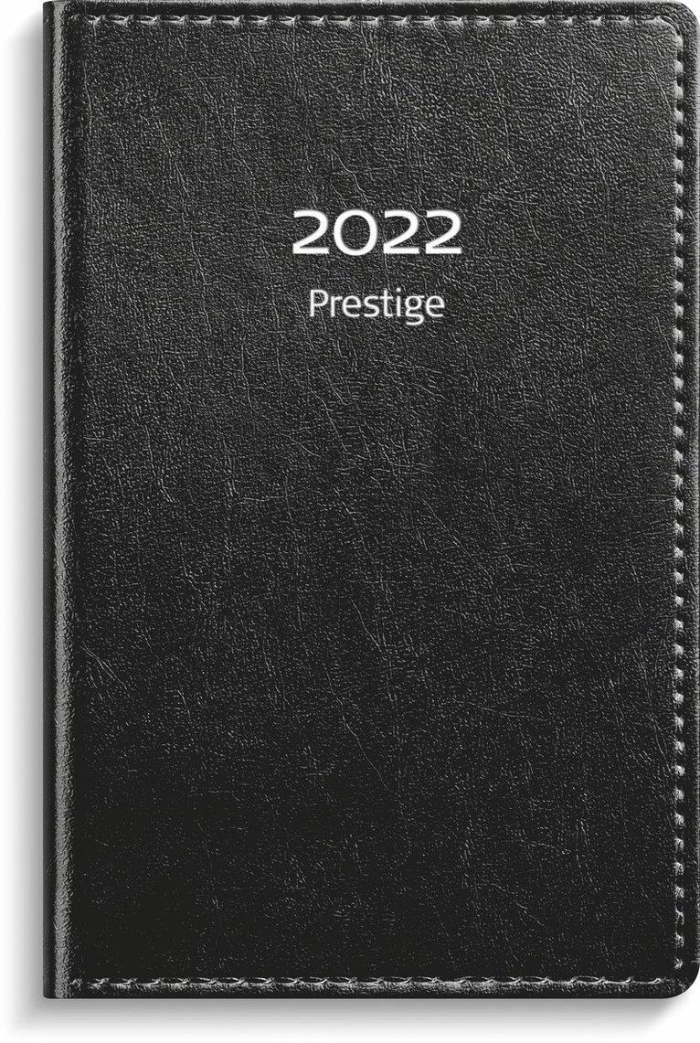 Kalender 2022 Prestige konstläder svart 1