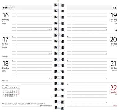 Kalender 2018 Master refill 1