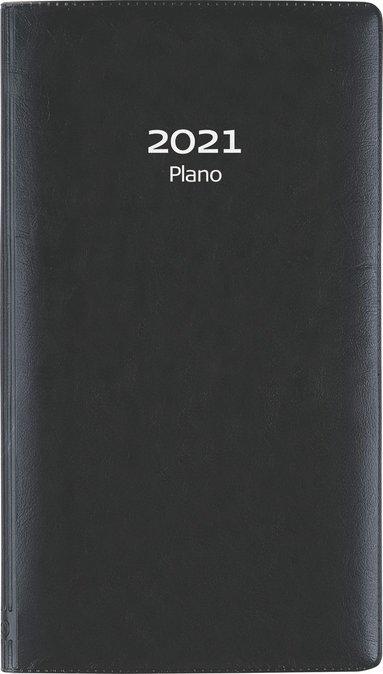 Kalender 2021 Plano plast svart 1
