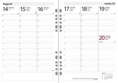 Kalendersats 2019-2020 Compact