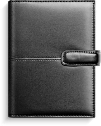 Systemkalender Compact konstläder svart 1