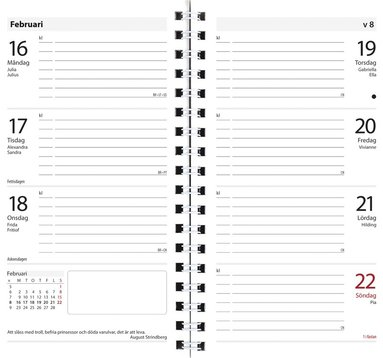 Kalendersats 2019 Planner Master