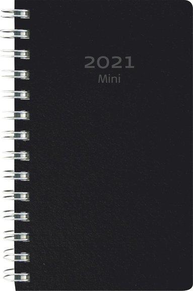Kalender 2021 Mini Eco Line kartong svart 1