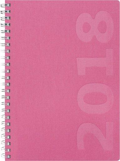 Kalender 2018 Dagbok Savanna rosa 1