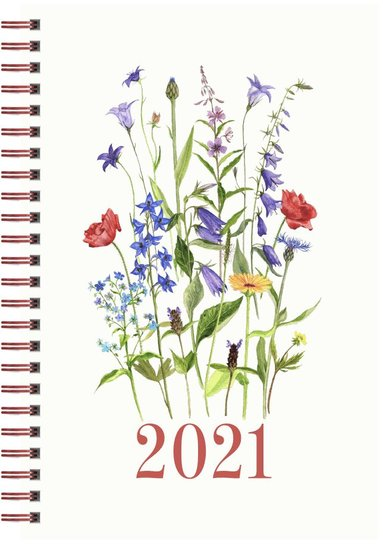 Kalender 2021 Senator A5 ängsblom 1