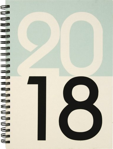 Kalender 2018 Senator A5 Graphic årtal 1