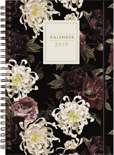 Kalender 2019 Senator A6 blomma 1