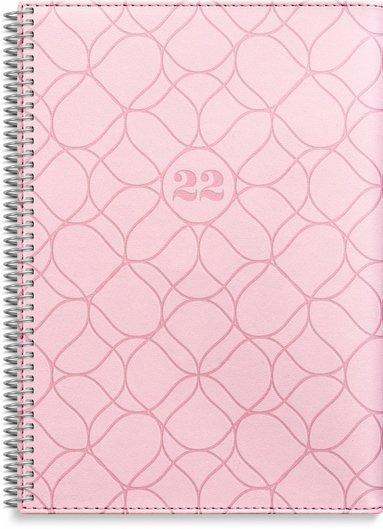 Kalender 2022 Stor Veckokalender Twist rosa
