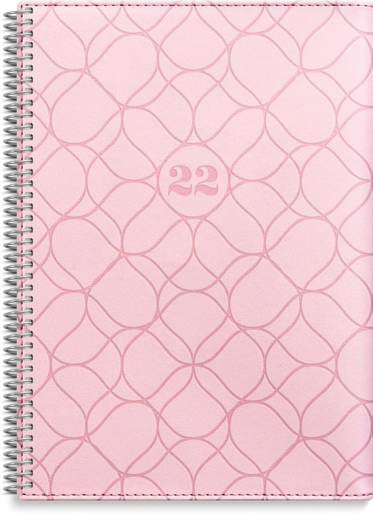 Kalender 2022 Stor Veckokalender Twist rosa 1