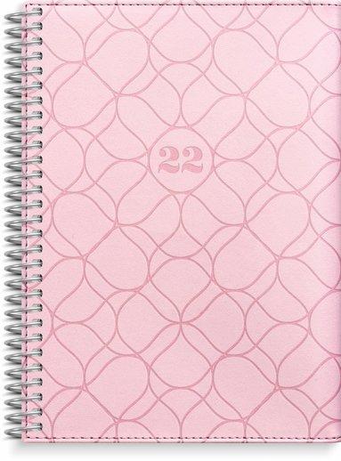 Kalender 2022 Liten Veckokalender Twist rosa
