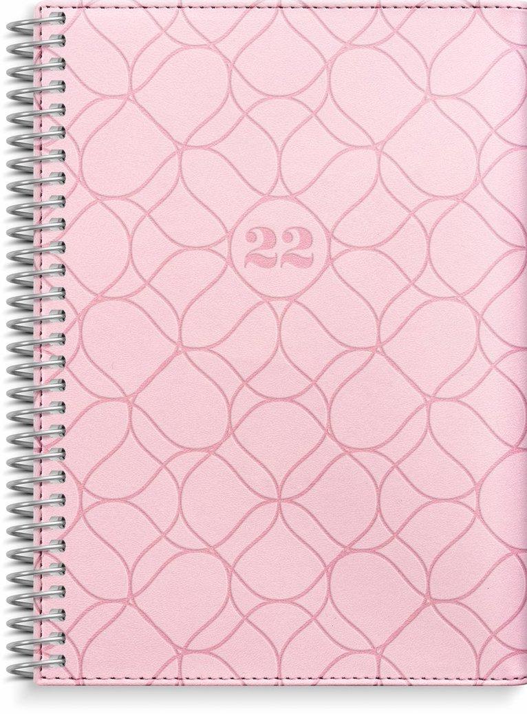 Kalender 2022 Liten Veckokalender Twist rosa 1