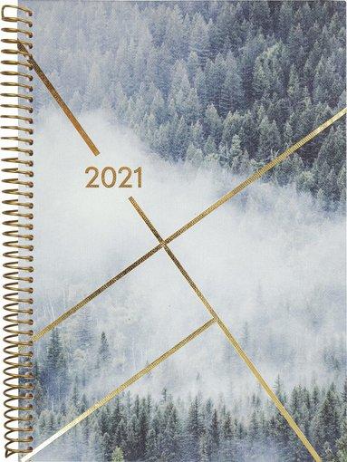 Kalender 2021 Weekly A6 Saga skog 1