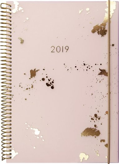 Kalender 2019 Senator A6 Multi guldstänk 1