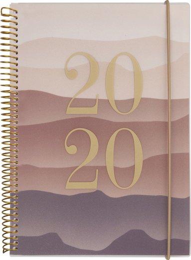 Kalender 2020 Weekly A6 multi berg 1