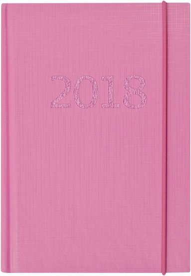 Kalender 2018 Lilla Fickdagboken Ariane rosa 1