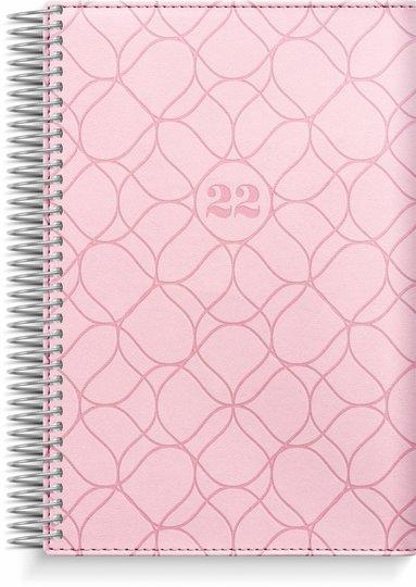 Kalender 2022 Dagbok Twist rosa