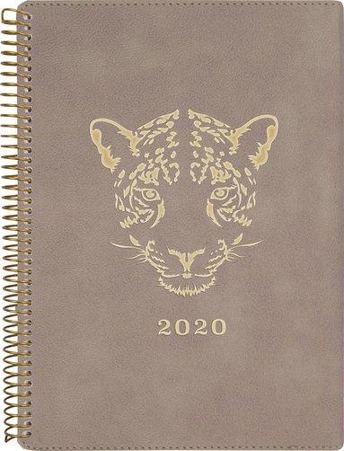 Kalender 2020 Business Twist leopard 1