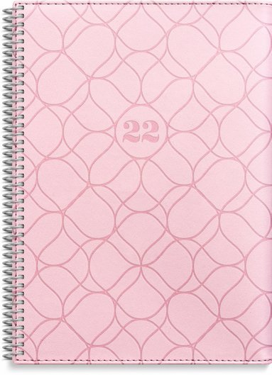 Kalender 2022 Business Twist rosa