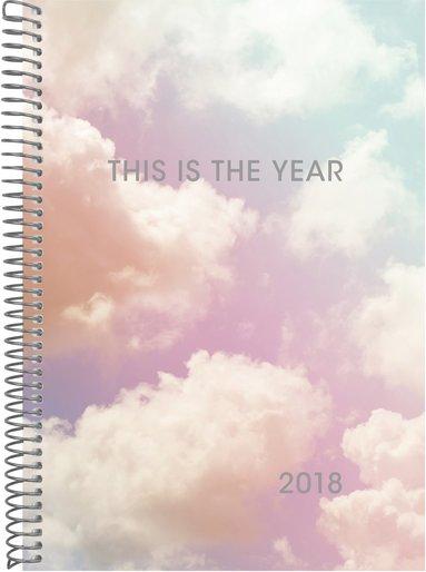Kalender 2018 Senator A6 Velvet moln 1